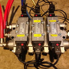 3 x Norgren Solenoid Air Valve SXE0575-A50-00 automation pneumatic manifold iso
