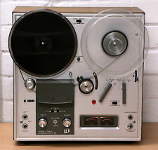 """AKAI 1710W VALVE Reel to Reel tape player 7"""" recorder Made in Japan 1960's NR"""