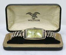 Vintage WALTHAM 10K Gold Filled Watch. Wadsworth Back 17 Jewels & Case