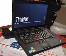 "Lenovo T420s 14"" LED HD laptop core i5 2.5GHz 4GB 500GB Windows 7 Thinkpad Dock"