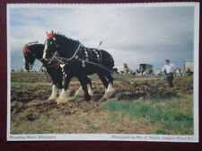 POSTCARD KENT WILMINGTON - A PLOUGHING MATCH