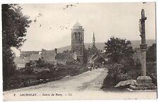 CPA 29 - LOCRONAN (Finistère) - 2. Entrée du Bourg. LL