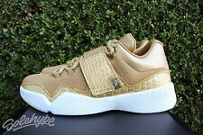 NIKE AIR JORDAN J23 SZ 10 METALLIC GOLD WHITE 854557 700