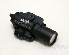 X400 Ultra Tactical LED Flash Weaponlight Red Laser Rail - Black