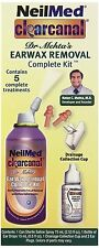 NeilMed Clear Canal Ear Wax Removal Complete Kit 5 Treatments