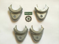 Land Rover Military Series 2a or 3 & Lightweight Hood Stick Clamps X 4