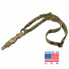 CONDOR US1001 MULTICAM COBRA Tactical Double Bungee One Point Rifle Sling