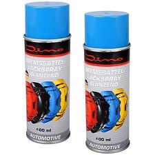 2x Dino 130091 Bremssattellack BLAU 1-Komponenten Lack Spray 400ml