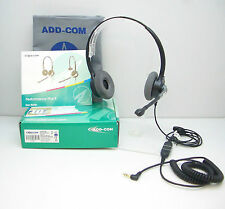 ADD880-07 NC Headset with 3.5mm Plug for Alcatel 4028 4029 4038 4039 4068 Phones