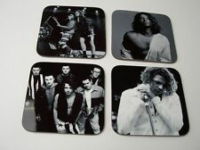 Michael Hutchence INXS BW COASTER Set