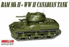 RAM Mk II - WW II CANADIAN TANK 1/35 MODELLAND RESIN KIT