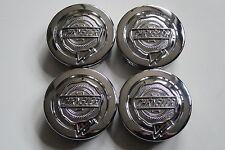 4 Nabendeckel/Radkappen für Alufelgen von Chrysler in chrom