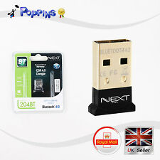 New NEXT-204BT Bluetooth CSR 4.0 Socket type APT-X codec USB Dongle