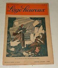 L'AGE HEUREUX N°22 du 15 novembre 1928 : L'autogire - Charles V par T. MERZEAU