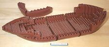 Lego Pirate Ship Hull & Bow Bricks Brown 70413 Boat