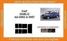 pellicola oscurante vetri fiat doblo dal 2002 al 2007 kit posteriore