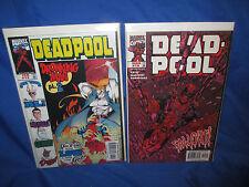 Marvel Comics DEADPOOL (1997 Series) #13 & 14 Lot VF/NM 1st Appearance Of Ajax