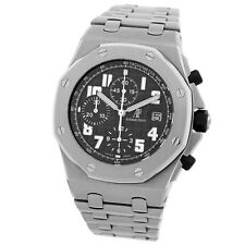 AUDEMARS Piguet Stainless Steel Offshore Black Themes Chronograph # 25721 ST