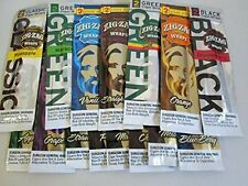 ZIG ZAG WRAPS-VARIETY PACK-20 DIFFERENT FLAVORS!! with gift