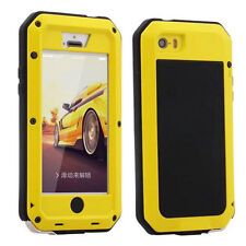 Shockproof Aluminum Gorilla Metal Glass Metal Case Cover for iPhone 5s 6/6S Plus