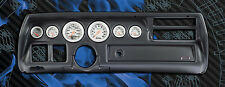 70-72 Chevelle Blk Dash Panel with Ultra Lite Gauges