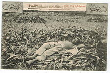 Chinese Harvester having Rest, Russian issue from Charbin, 1910s