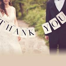 THANK YOU Wedding Banner Wedding Sign Photo Prop Wedding Party Decoration
