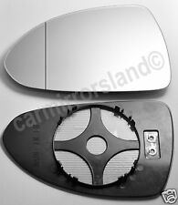 Left  Wing Car Mirror Glass HEATED WIDE ANGLE VAUXHALL CORSA D 2006-2014