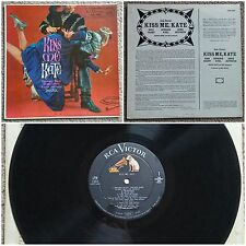 KISS ME KATE LP Original Television Soundtrack RCA LPM-1984 Vinyl Record 12""