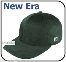 BRAND NEW ERA GENUINE BRUSHED GREEN ADJUSTABLE CAP FLAT BILL BASEBALL HAT