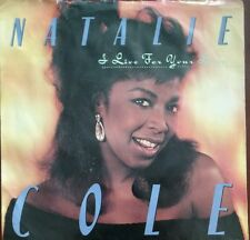 """NATALIE COLE I Live For Your Love 45 RPM 7""""  Vinyl & Picture Sleeve 1987 Used"""