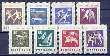 Olympiade, Olympic Games 1960 - Jugoslawien - 909-916 ** MNH