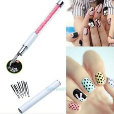 Nail Gel Design Acrylic Painting Pen Nail Art Brush Set for Salon Manicure Tool