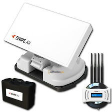 Selfsat Snipe Air GPS automático WiFi Streaming Antena Satelital hasta 8
