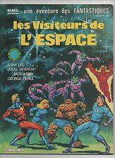 Les Visiteurs de l'Espace. LUG 1984. Georges PEREZ. Les Fantastiques n°35