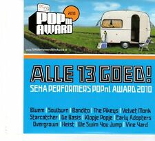 (FP969) Pop nl Award, Various Artists, Alle 13 Goed - 2010 CD