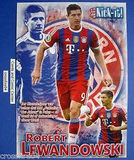 Poster Bayern München , Der Klasse-Knipser , Robert Lewandowski