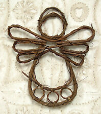 Grapevine Angel 9 inches Ready to Decorate Primitive Rustic Country NWT