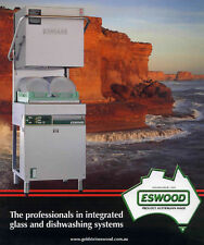 Brand NEW Eswood ES25 pass through dish and glass washer