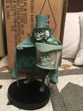 "Disney Parks Hat Box Ghost Haunted Mansion Med Fig 13"" Statue Sold Out C Alvezos"