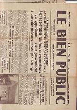 le bien public - lundi 29 octobre  1945
