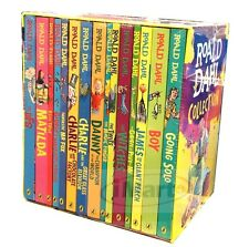 2016 Stock |ROALD DAHL Collection 15 Books Box Set Phizz Wizzing Collection Book