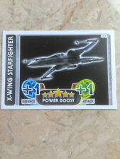 STAR WARS Force Awakens - Force Attax Trading Card #121 X-WING Starfighter