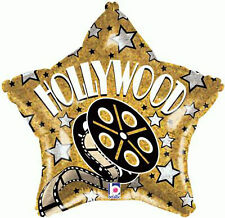 "Hollywood Movie Prom Night Party Decoration 18"" Star Shaped Foil Balloon"