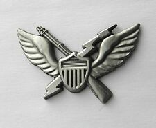 11TH AIRBORNE AIR ASSAULT LIGHTING BOLT US ARMY LARGE LAPEL PIN BADGE 1.7 INCHES