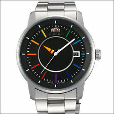 Orient Rainbow Automatic Watch with Unique Rotating Disk Hour Hand #ER0200DW