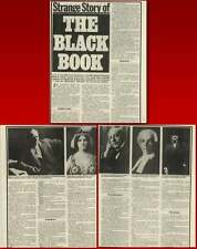 German Secret Service Black Book Sexual Vices Blackmail Article