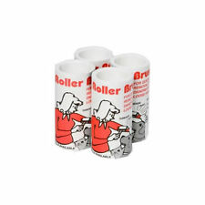 4 STICKY ROLLER REFILLS for Trident Handle Brush = 20 Metres of Roll  34-4
