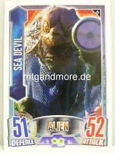#099 Sea Devil - Alien Attax Doctor Who