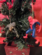 AMAZING SPIDER-MAN VS THE LIZARD MOVIE SERIES CUSTOM CHRISTMAS ORNAMENTS NEW !!